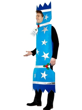 Adult Christmas Cracker Costume - Back View