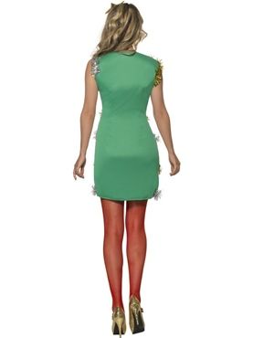 Adult Christmas Tree Costume - Side View