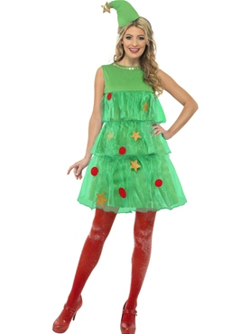 Adult Tutu Christmas Tree Costume Thumbnail