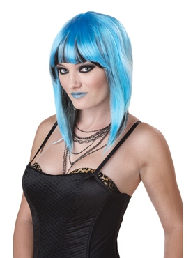 Chromatic Blue Wig