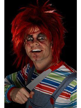 Chucky Make Up Kit - Back View