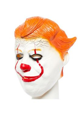 Chunky Clown Full Head Mask - Side View