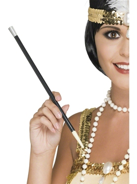 Cigarette Holder Black - Back View