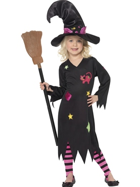 Child Cinder Witch Costume