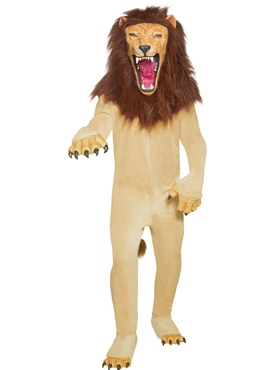 Adult Cirque Sinister Vicious Circus Lion Costume