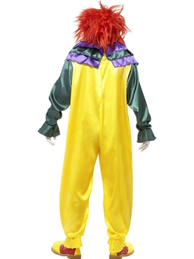 Adult Classic Horror Clown Costume - Side View