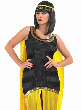 Adult Cleopatra Costume - Back View  sc 1 st  Fancy Dress Ball & Adult Cleopatra Costume - FS3448 - Fancy Dress Ball