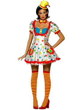 Adult Clown Female Costume