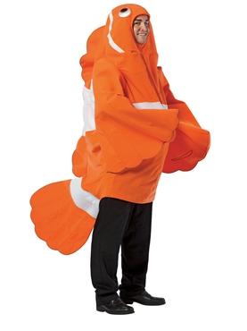 Adult Clown Fish Costume Thumbnail