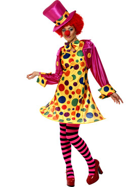 Adult Clown Lady Costume
