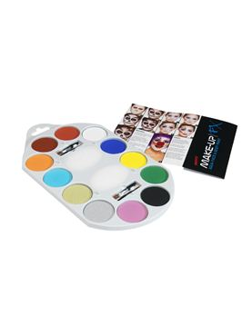 Make Up FX Paint Pallet - Back View