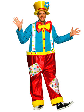 Adult Clown Male Costume