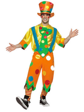 Adult Clown Toots Adult Costume Couples Costume