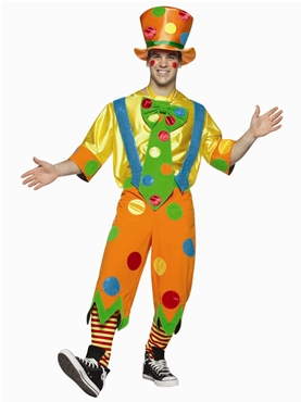 Adult Clown Toots Adult Costume