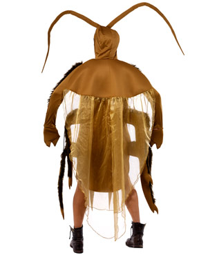 Adult Cockroach Costume - Back View