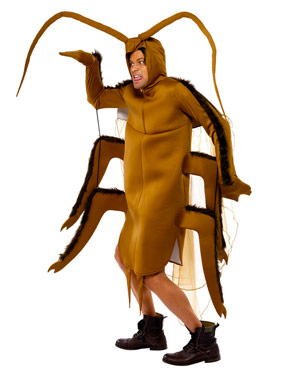 Adult Cockroach Costume - Side View