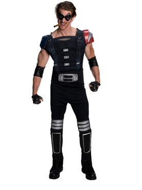 Comedian Watchmen Muscle Chest Costume
