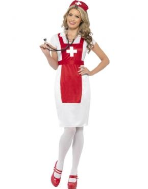 Adult A & E Nurse Costume