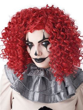 Corkscrew Clown Curls Wig - Back View