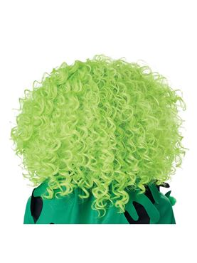 Corkscrew Clown Curls Wig - Side View
