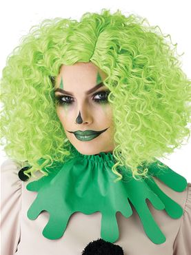 Corkscrew Clown Curls Wig