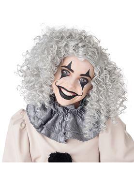 Corkscrew Clown Curls Wig - Back View