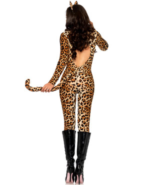 Adult Cougar Costume - Back View