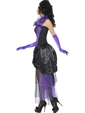 Adult Countess Chateau Costume - Back View