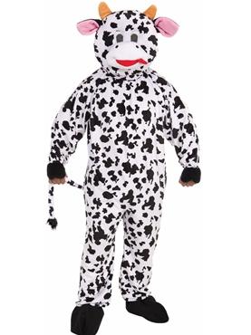 Adult Cow Mascot Costume
