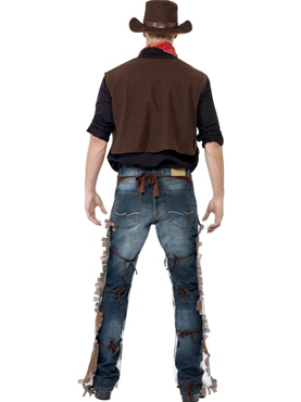 Adult Cowboy Costume - Side View