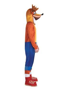 Adult Crash Bandicoot Costume - Side View