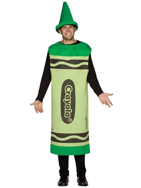 Adult Male Green Crayola Crayons Costume