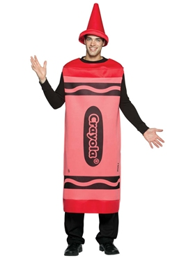 Adult Male Red Crayola Crayons Costume