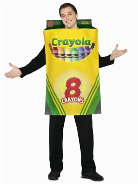 Adult Crayola Crayons Box of 8 Costume