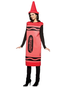 Adult Ladies Red Crayola Crayons Costume