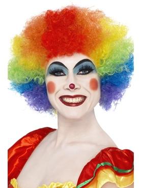 Crazy Clown Rainbow Wig