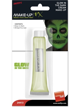 Cream Make-Up Glow-In-The-Dark