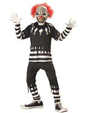 Creepy Clown Childrens Costume
