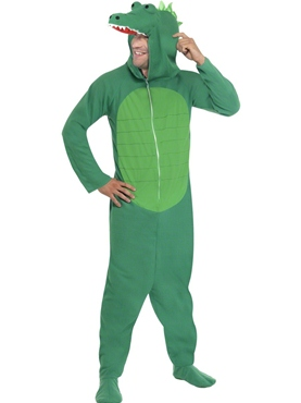 Adult Crocodile Onesie Costume