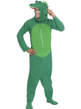 Adult Crocodile Onesie Costume