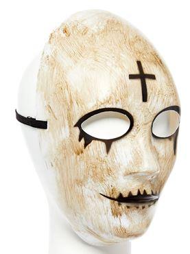 Cross Mask - Back View