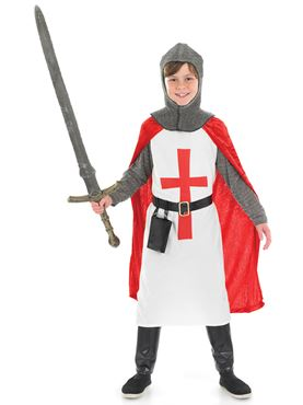 Crusader Knight Childrens Costume