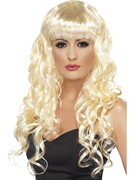 Curly Siren Wig Blonde