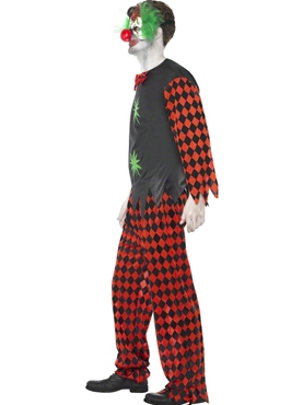 Cut Throat Clown Costume