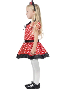 Child Cute Mouse Costume - Back View