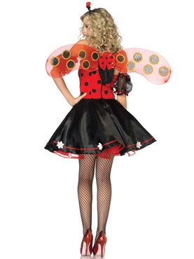 Adult Daisy Lady Bug Costume - Back View