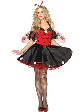 Adult Daisy Lady Bug Costume