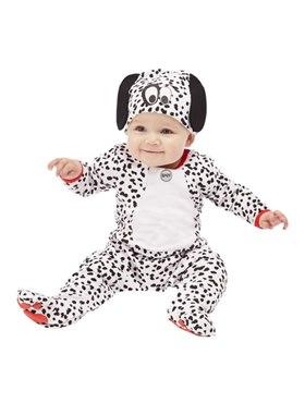 Dalmatian Baby Costume - Back View