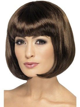 Dark Brown Partyrama Wig