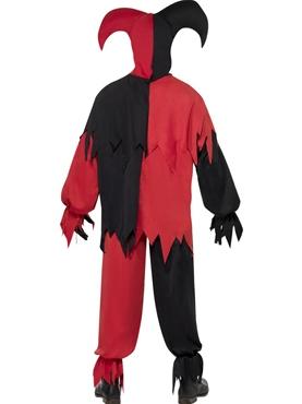 Adult Dark Jester Costume - Side View